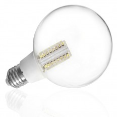 Bombilla LED 10W globo E-27