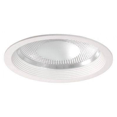 Downlight LED 29W luz neutra 4200ºk y 2400 Lm COB. REDONDO BLANCO