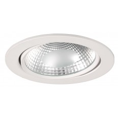 Downlight LED 17W luz neutra 4000ºk y 1360 Lm COB. REDONDO BLANCO