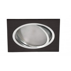 Downlight LED 11W CUADRADO NEGRO