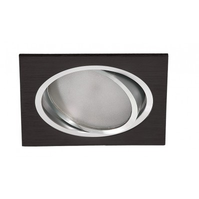 Downlight LED 11W y 900 Lm CUADRADO NEGRO