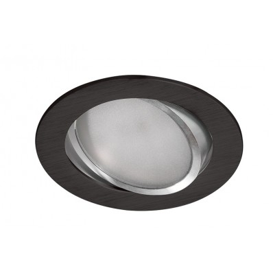 Downlight LED 11W y 900 Lm REDONDO NEGRO