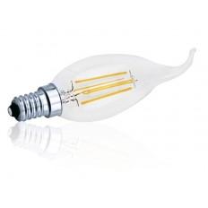 Bombilla LED 4W luz cálida 2700ºK y 330Lm E-14 DECORATIVA