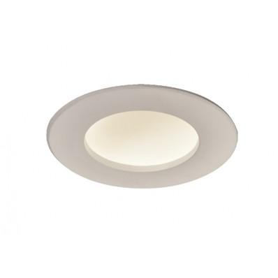 Empotrable LED 8W concavo y 450Lm REDDONDO BLANCO