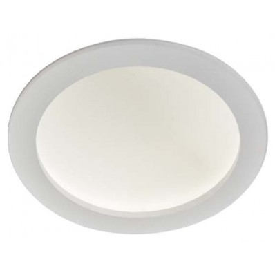 Downlight LED 30W luz neutra 4000ºk y 1800 Lm REDONDO BLANCO