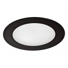 DOWNLIGHT LED 18W 1600LM REDONDO NEGRO CRISTAL