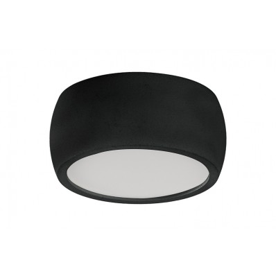 SUPERFICIE FIJO LED 7W 560LM NEGRO