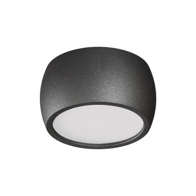 SUPERFICIE LED FIJO 7W 560LM GRIS MET.